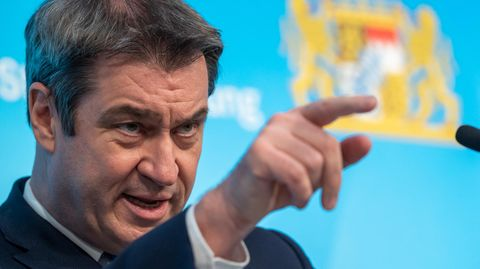 CSU-Chef und Ministerpräsident von Bayern, Markus Söder