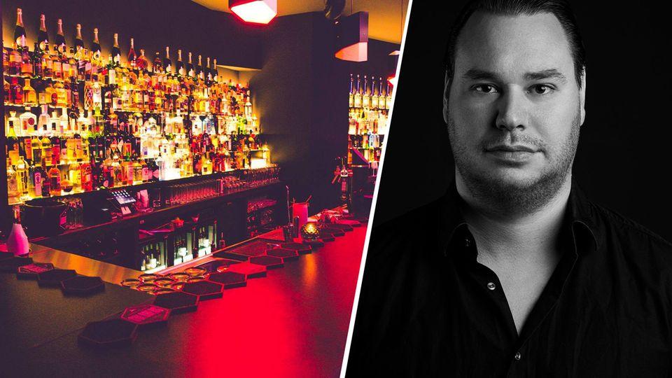 """""""Sobald Restaurants und Bars wieder aufschließen, wird das wie Silvester und Mauerfall zusammen"""", sagt der Berliner Bar-Betreiber Dustin Render (hier zu sehen seine Sharlie Cheen Bar)."""