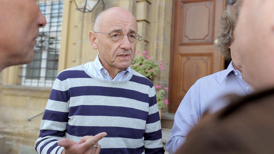 Der ehemalige bayerische Justizminister Alfred Sauter (CSU)
