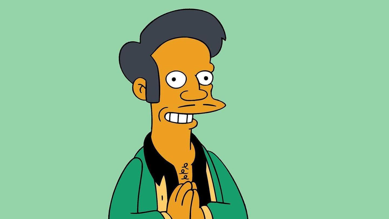 Eine Zeichnung der Simpsons-Figur Apu Nahasapeemapetilon