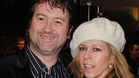 Die britische TV-Moderatorin Kate Garraway mit ihrem Mann Derek Draper
