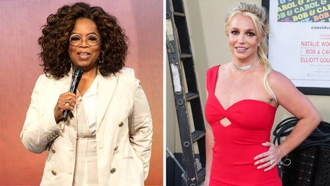 Oprah Winfrey und Britney Spears