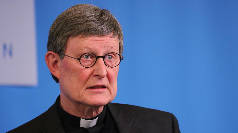 Der Kölner Kardinal Rainer Maria Wölki während einer Pressekonferenz