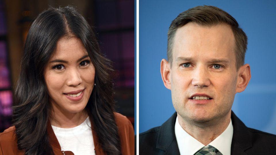 Mai Thi Nguyen-Kim und Hendrik Streeck