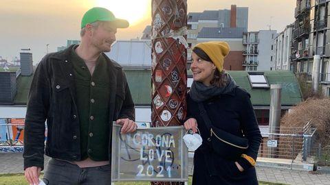 Roland Rödermund und Julia Becker