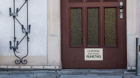 Ruhetag Corona