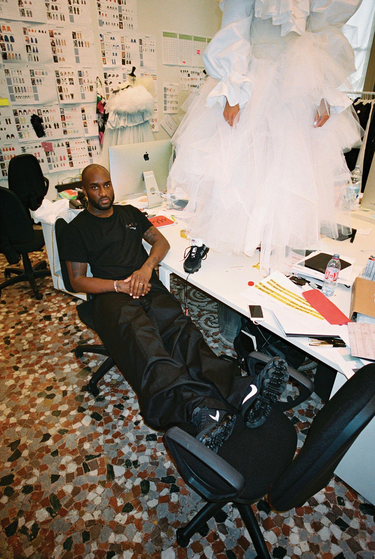 Virgil Abloh in seinem Atelier