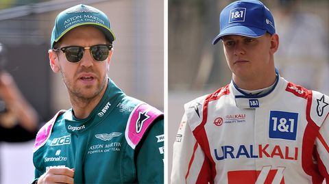 Formel 1: Sebastian Vettel und Mick Schumacher