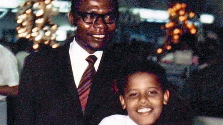 Barack Obama und sein Vater