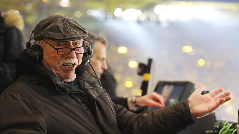 Fußballkommentator: Er war die Stimme des Ruhrpotts – was macht eigentlich Werner Hansch?