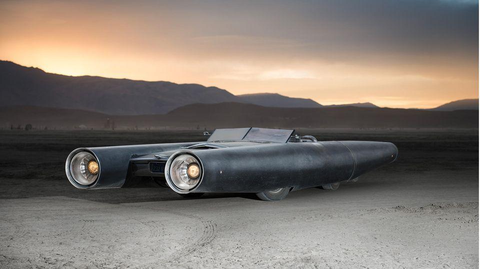 """Rocket Car - ein Traum aus """"Star Wars"""""""