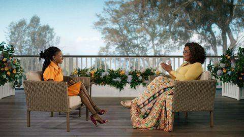 Amanda Gorman und Oprah Winfrey