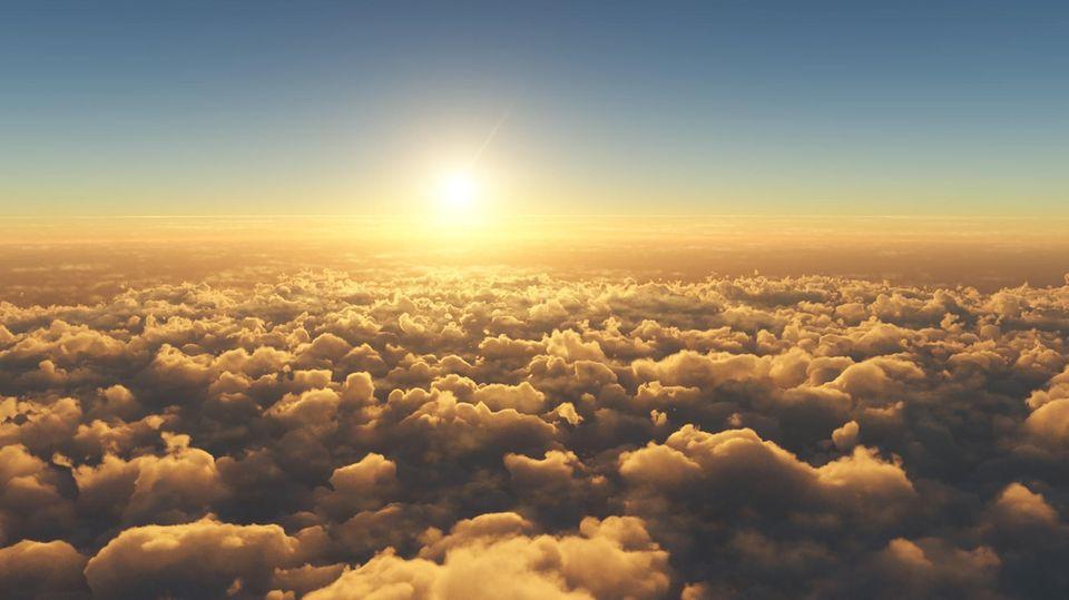 Wolken können die Erde vor zu viel Sonne schützen.