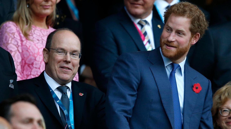 Fürst Albert und Prinz Harry