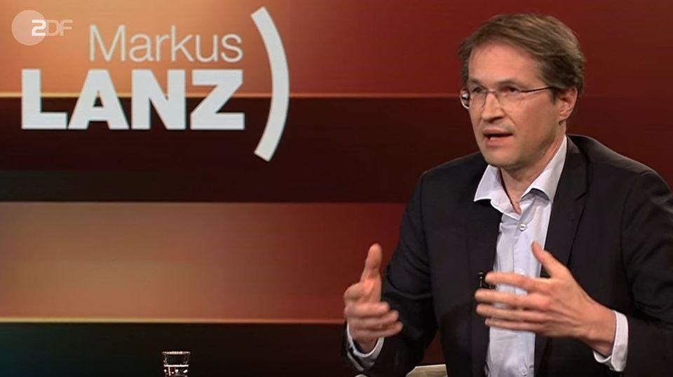 Soziologe Gerald Knaus bei Markus Lanz