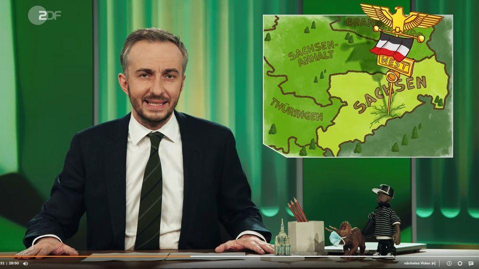 """""""Nazis in Sachsen"""" war das Thema im """"ZDF Magazin Royale"""" mit Jan Böhmermann"""