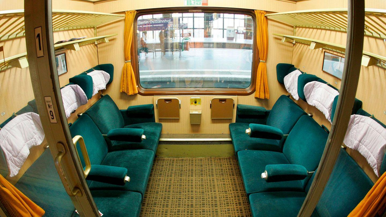 Deutsche Bahn: Abteil eines Eurocity-Waggons