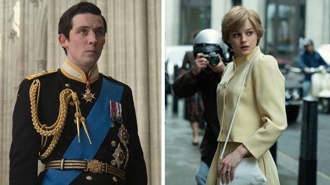 """Prinz Charles und Diana in der vierten Staffel der Serie """"The Crown"""""""