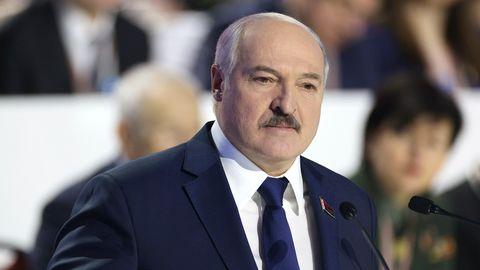 Alexander Lukaschenko: Der Ausschluss von Belarus vom ESCist in Minsk auf heftige Kritik gestoßen.