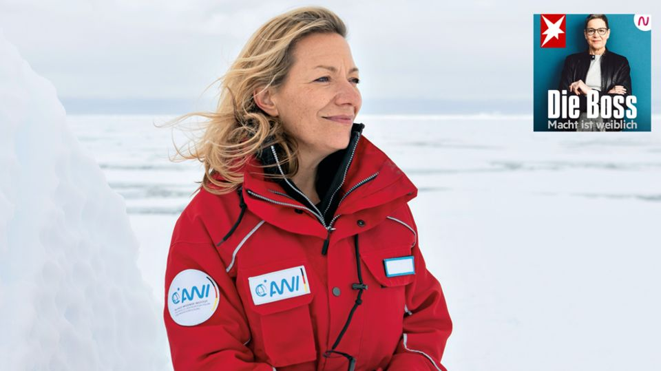 Meeresbiologin und Klima-Spezialistin Antje Boetius