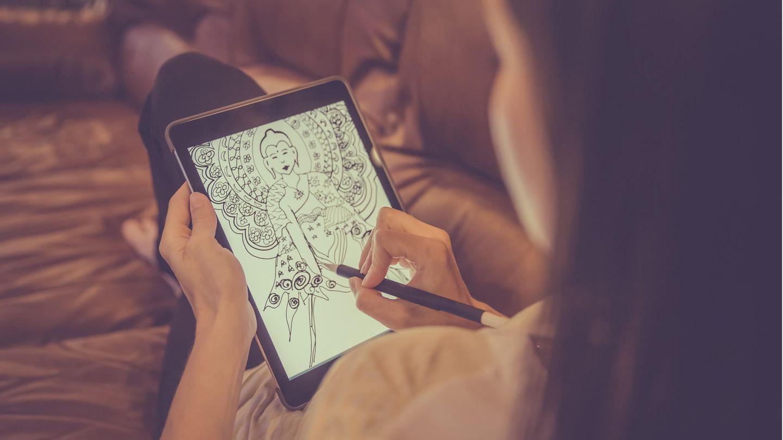 Welches iPad kaufen: Zubehör wie der Apple-Pencil macht das iPad zum Zeichen- und Notizblock.