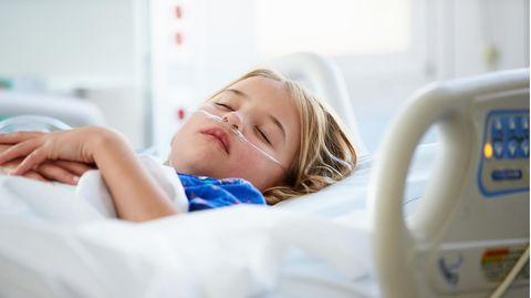 Eine Herzerkrankung führte zum lebensbedrohlichen Zustand des Mädchens