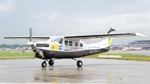 Antonio Sena stürzte in einer Cessna 210 ab (Symbolbild)