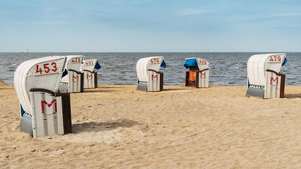 Um überfüllte Strandpromenaden zu vermeiden, macht Cuxhaven über Ostern dicht.