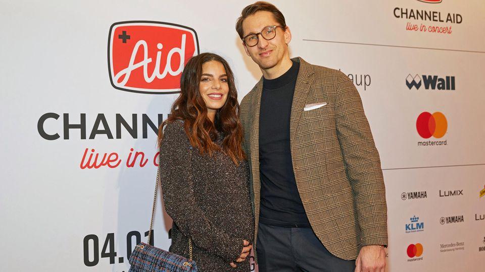 Lilli Hollunder und René Adler