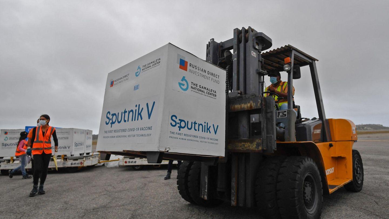 Sputnik V wird in die Welt geliefert