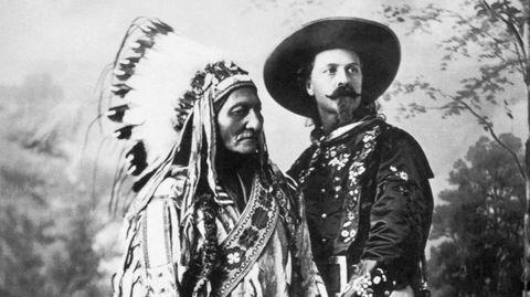 Sitting Bull und Buffalo Bill