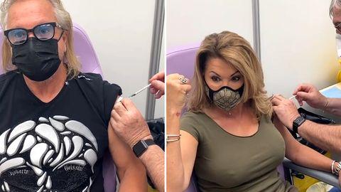 Geimpft in Monaco: Carmen und Robert Geiss kassieren nach Corona-Impfung heftige Kritik