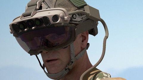 Hololens: Die für die US-Army angepasste Augmented-Reality-Brille Hololens soll einen Vorteil im Kampf liefern