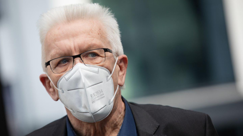 Baden-Württembergs Ministerpräsident Winfried Kretschmann (Bündnis 90/Die Grünen)wirbt für eine Neuauflage der Koalition mit der CDU