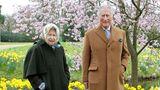 Vip News: Die Queen und Prinz Charles beim Osterspaziergang