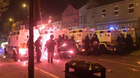 Unruhen in Belfast, Nordirland