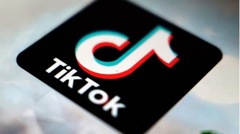 Das Logo der App TikTok