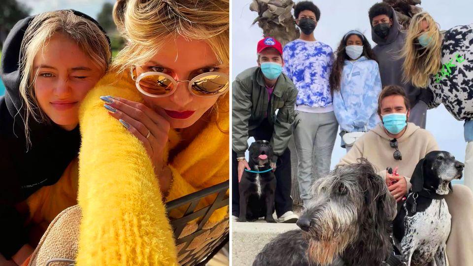 Heidi Klum feiert mit ihrer Familie im Oster-Lockdown in Amerika