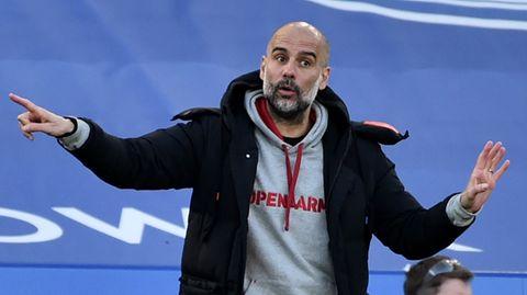 Pep Guardiola mag den Berater von Erling Haaland, Mino Raiola, nicht besonders