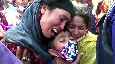 Dutzende kommen bei Schiffsunglück in Bangladesh ums Leben
