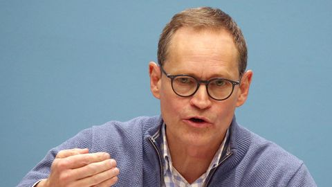 Michael Müller (SPD), Regierender Bürgermeister von Berlin