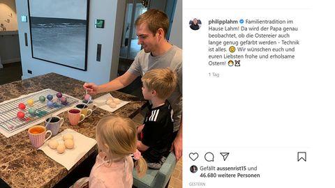 Vip News: Seltenes Foto: Philipp Lahm zeigt seine Kinder