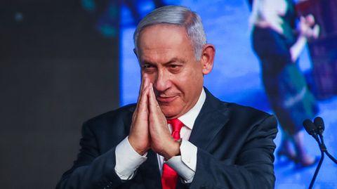 Benjamin Netanjahu, Ministerpräsident von Israel und Vorsitzender der rechtskonservativen Likud-Partei