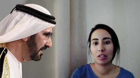 Prinzessin Latifa (r.) beschuldigte in einem selbst gedrehten Video schon 2018 ihren Vater, den Emir von Dubai (l.), sie gegen ihren Willen festzuhalten