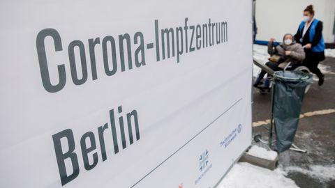 EinImpfzentrum in Berlin