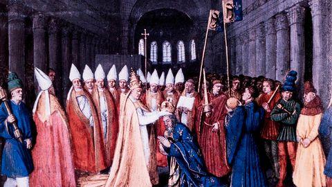 Geschichte der Päpste: Intrigen, Morde und verbotene Liebschaften – so wurde der Papst zum mächtigsten Mann des Mittelalters