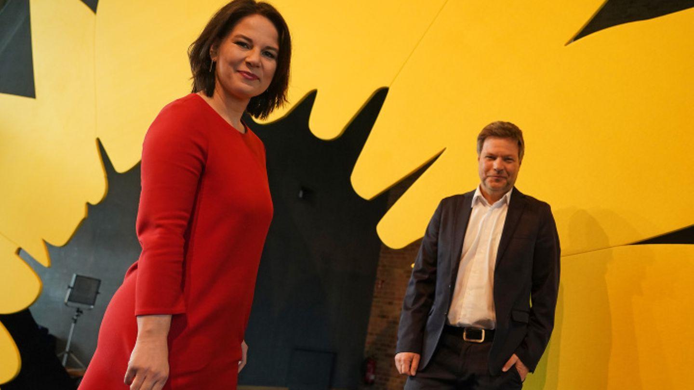 Wer wird K-Kandidat:in der Grünen -Annalena Baerbock und Robert Habeck?