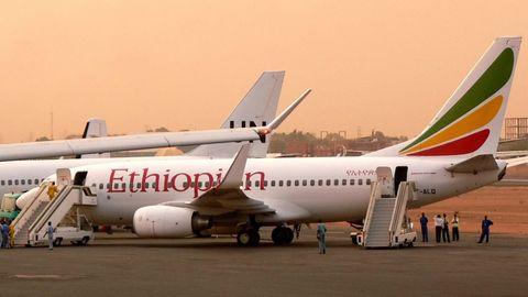 Eine Maschine der Ethiopian Airlines ist versehentlich an einem Flughafen gelandet, der sich noch in der Bauphase befindet