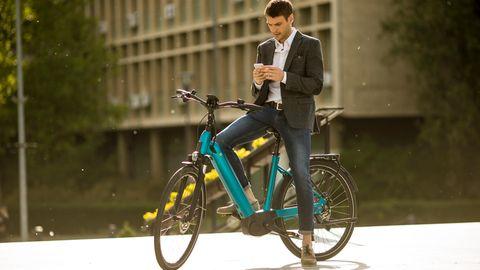 E-Bikes sind praktisch, um schnell von A nach B zu kommen