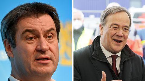 Markus Söder und Armin Laschet